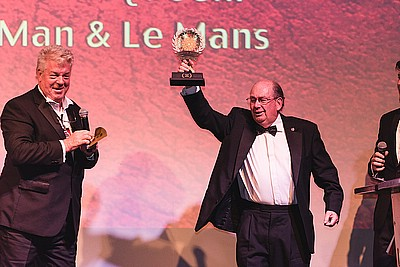 The Man & Le Mans -  Winning the Red Award at London Motor Film Festival
